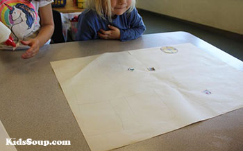 Making Maps preschool activity