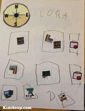 Making Maps preschool activity