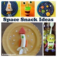 Preschool Kindergarten Space Snack Ideas
