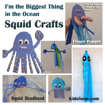Story Time I M The Biggest Thing In The Ocean Crafts And