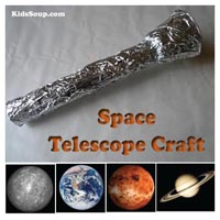 Preschool Kindergarten Space Telescope Craft