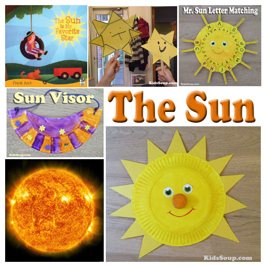 The sun activities and games for preschool and kindergarten