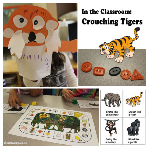 preschool jungle animals lesson plan and activities