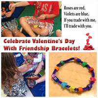 Preschool Kindergarten Friendship Bracelet Lesson