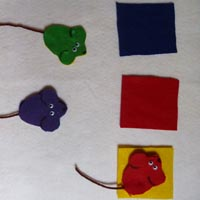 Mouse Paint activity and lesson for preschool and kindergarten