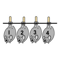 Bats number line activity and printables for preschool and kindergarten