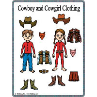 Wild West Words Booklet and Activity