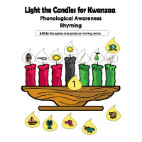 Light the Candles Rhyming Game