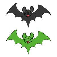 Bats Felt Story activity and printables for preschool and kindergarten