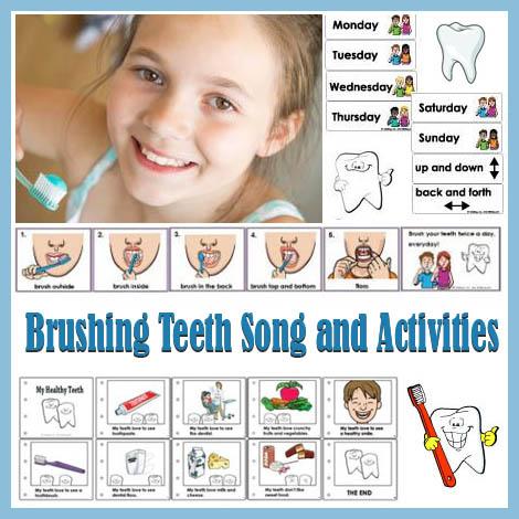 Tooth Brushing Sensory Activity Kidssoup