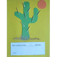 In the Wild West Cactus Craftivity and Lesson Plan