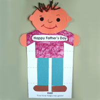 Father's Day Activity and Printables for preschool