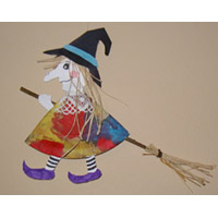 witch paper plate crafts