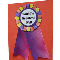 Father's Day Craft for preschool and kindergarten