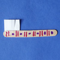 Brush your teeth please tooth brush craft and activity