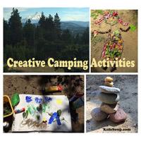 Preschool Kindergarten Camping Activities
