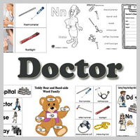 Preschool Kindergarten Doctor Activities and Lessons