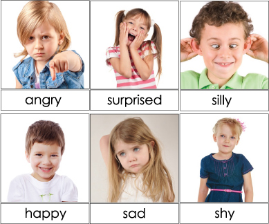 Emotion Cards and Activities for preschool and kindergarten