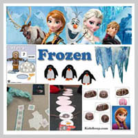 Preschool and Kindergarten Frozen Activities and Crafts