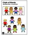 Martin Luther King Jr. Chain of Friends game and activity