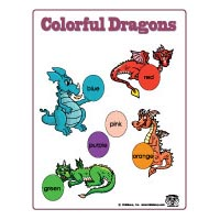 Colors and Colours learning game for preschool