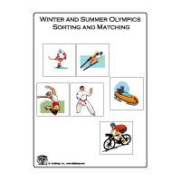 preschool and kindergarten Olympic Games activities and games