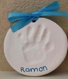 Graduation handprint craft and recipe for preschool and kindergarten
