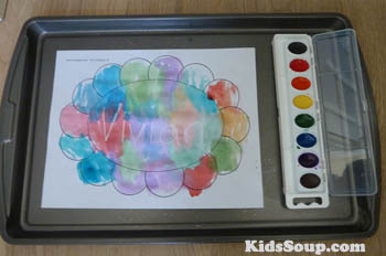 Hidden Names crafts and activity for preschool and kindergarten