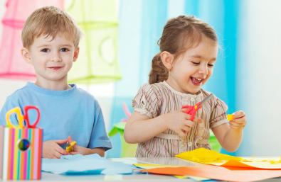 Preschool scissors skills and fine motor activities