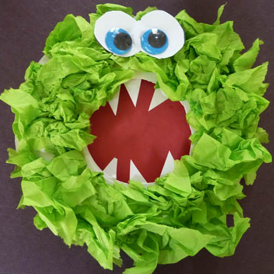 M is for monster mash activities and crafts kidssoup for Paper mashing craft