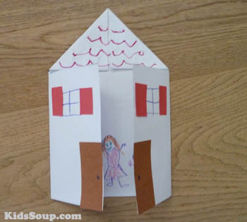 Home is where the heart is all about me lesson plan for Arts and craft homes