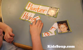 My name activities and printables for preschool and kindergarten