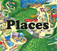 Places preschool and kindergarten themes