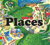 Places preschool and kindergarten themes