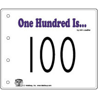 100 is... emergent reader and activity for kindergarten and preschool