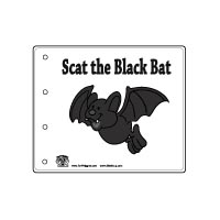 Bat Emergent Reader booklet and activities for preschool and kindergarten