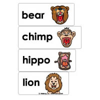 Brush your teeth word wall printable preschool and kindergarten
