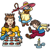 Nursery Rhymes activities and printables for preschool and kindergarten