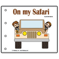 On my Safari preschool and kindergarten emergent reader