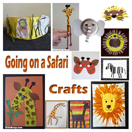 going on a safari crafts activities games and emergent readers for preschool and kindergarten. Black Bedroom Furniture Sets. Home Design Ideas