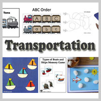 Preschool Kindergarten Travel Activities and Lessons