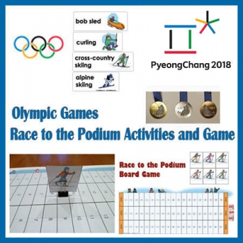 South Korea Olympic Games kids activities and game
