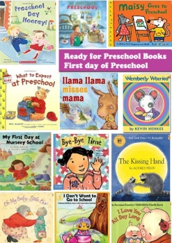 Ready for Preschool Book List