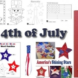 4th of July activities, crafts, and games for preschool and kindergarten