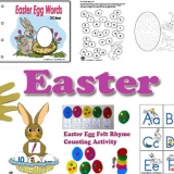 Easter Crafts, Activities, and Games for Preschool and Kindergarten
