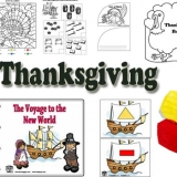 Thanksgiving crafts and activities for preschool and kindergarten