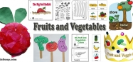 Fruits and Vegetables Activities and Games for Preschool