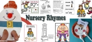 Preschool and Kindergarten Nursery Rhymes activities and crafts