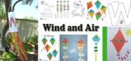 Wind and Air Preschool and Kindergarten Activities and Lessons