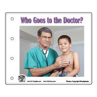 Who Goes To Doctor Emergent Reader
